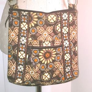 Vera Bradley Crossbody Hipster Bag